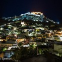 Castle of Leros by night